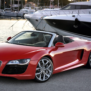 download Themes Audi R8 Spyder apk