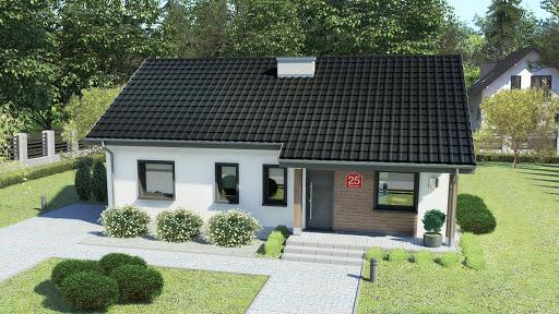 projekt Dom przy Bukowej 25