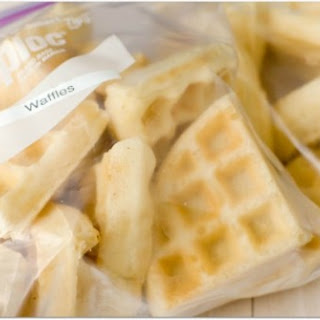 Frozen Waffles Recipes