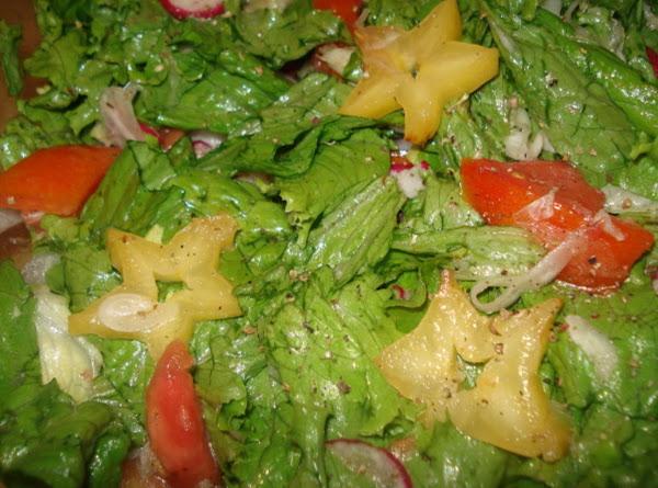 Starfruit Salad, Ensalada De Carambola Recipe