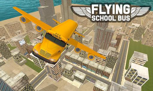 Flying School Bus Sim 2017 1.0.5 screenshots 1