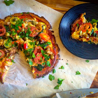 Vegan Just-veggies Pizza Base (egg, Dairy, Gluten, Nut & Grain Free)