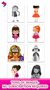 Girls Color by Number - Pixel Art,Sandbox Coloring – Apps bei Google ...