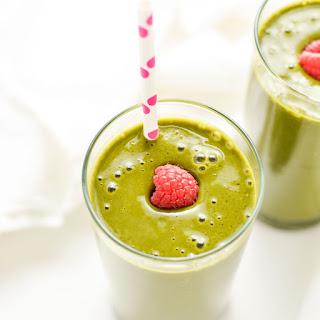 Raspberry, Matcha Super Green Smoothie