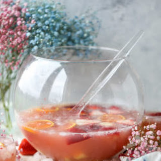 Strawberry Citrus Easter Punch.