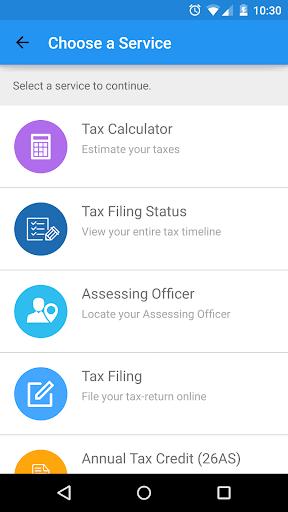 myITreturn - Income-tax app
