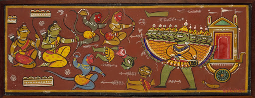 Battle Between Ram and Ravana