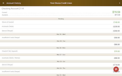 First Choice Credit Union screenshot 6