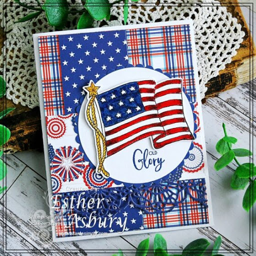 Old Glory – by Esther Asbury