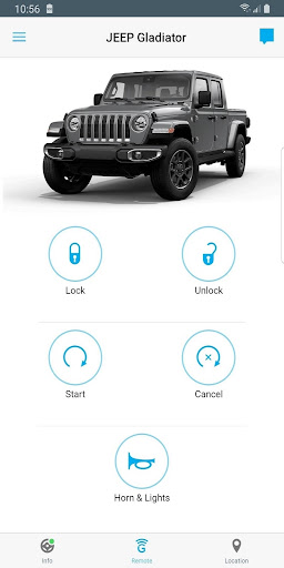 Uconnectu00ae 3.4.5 Screenshots 1