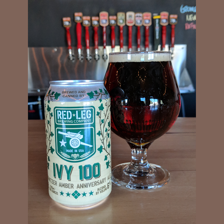 Logo of Red Leg IVY 100 Howitzer Amber Anniversary Ale