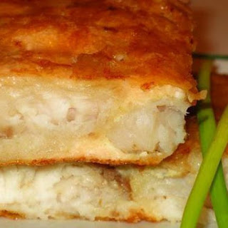 Delicate Fish with Cheese Souffle Recipe