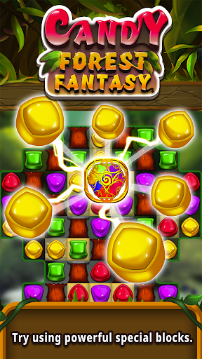 Candy forest fantasy : Match 3 Puzzle  screenshots 2