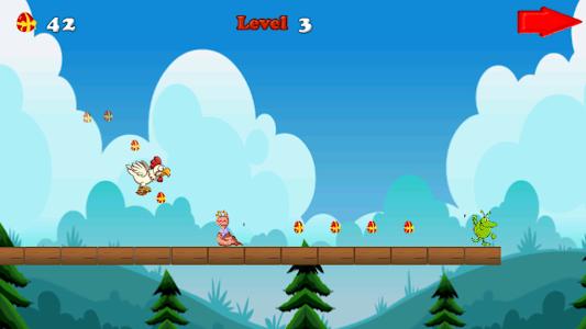 Angry chicken-Super run screenshot 5