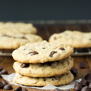 The Best Oatmeal Peanut Butter Chocolate Chip Cookies.