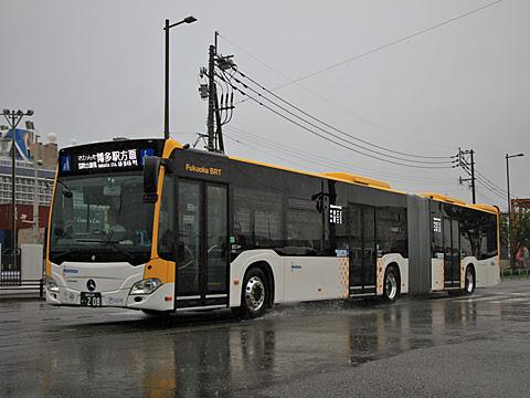 西鉄 アイランドシティ 0208 連節バス