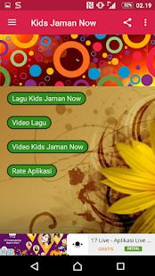 Lagu Kids Jaman Now + Video - náhled