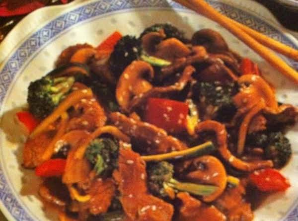 Saucy Beef And Vegetable Stir-fry