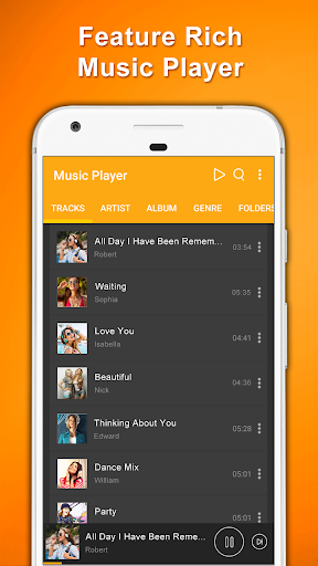 Music Player Offline MP3 Songs with Free Equalizer 1.18 screenshots 2