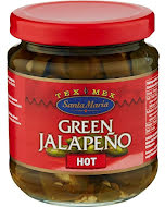 Santa Maria Green Jalapeño Hot 215 g