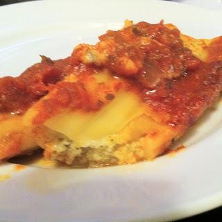 Easy Baked Manicotti
