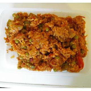New Orleans Style Vegetable Jambalaya