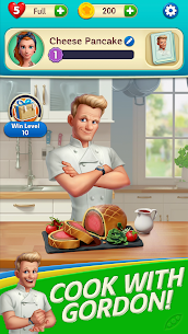 Gordon Ramsay: Chef Blast Mod Apk (Unlimited Lives and Moves) 1