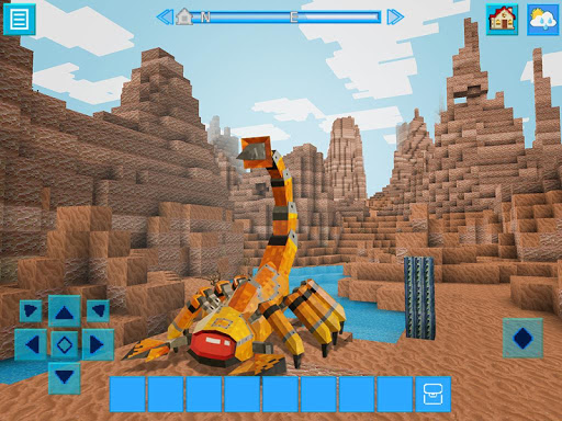 RoboCraft: Building & Survival Craft - Robot World 4.2.6 screenshots 18