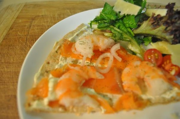 Salmon Thin Crust Pizza Recipe
