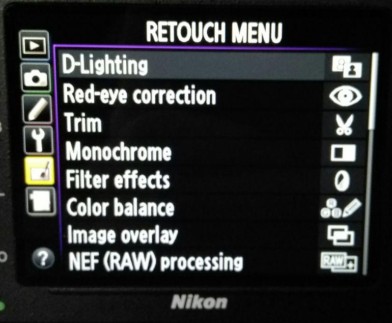 Dupla exposição na câmera Nikon