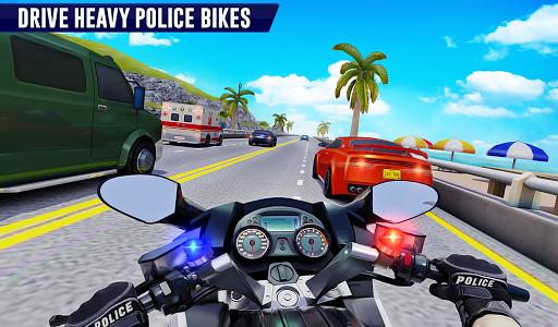 Police Moto Bike Highway Rider Traffic Racing Game modavailable screenshots 15