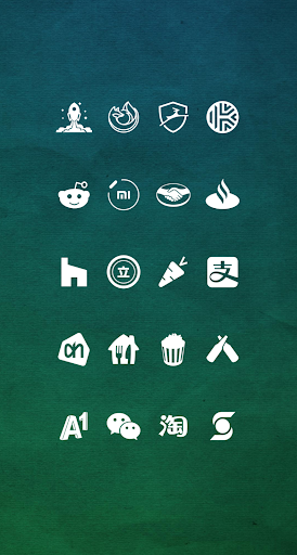 Whicons - White Icon Pack 20.6.9 screenshots 4