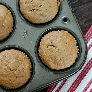Low Fat Peanut Butter Banana Muffins Recipe