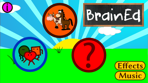 BrainEd:Match Shapes Animals