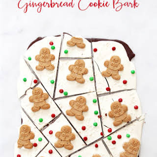 Gingerbread Cookie Bark.