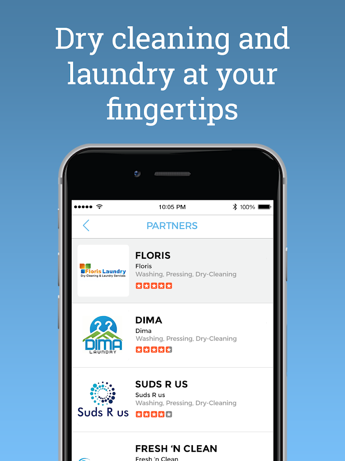 Get Laundry - Dry Cleaning App- screenshot