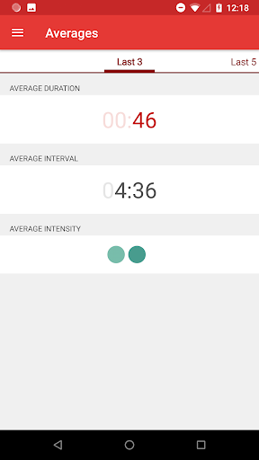Contractions Timer for Labor 3.1 screenshots 4