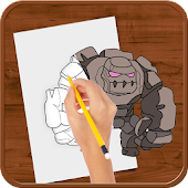 How to Draw :Clash of Clans