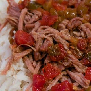 Slow Cooker Sweet Salsa Pork.