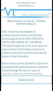 Vital Tones ADHD Adult Pro - náhled
