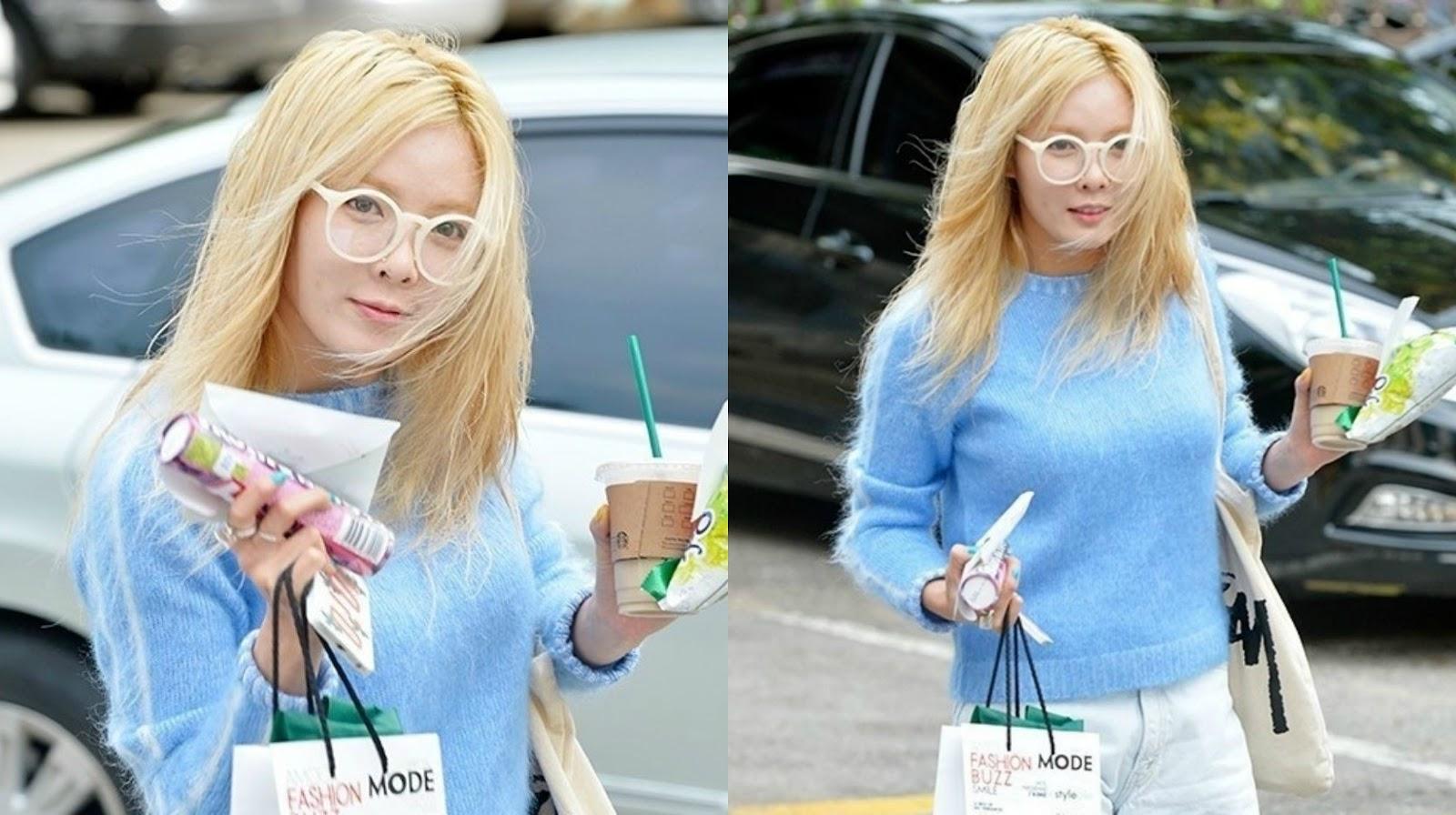 Hyuna Without Makeup