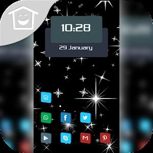 Black Star shine theme