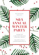 Annual Winter Party - Winter Holiday item