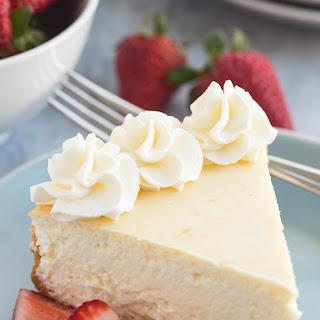 The Best Vanilla Cheesecake.