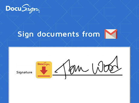 DocuSign eSignature for Chrome