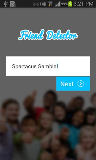 Friend Detector