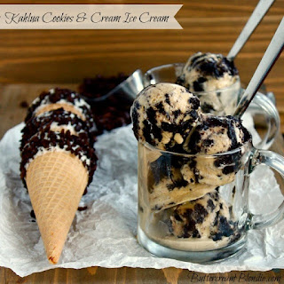 Kahlua Cookies and Cream Ice Cream