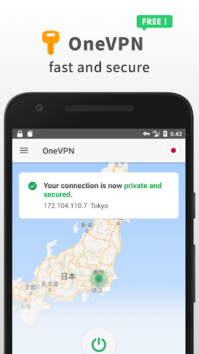 OneVPN - Fast VPN Proxy & Wifi Privacy Security 1.4 screenshots 1