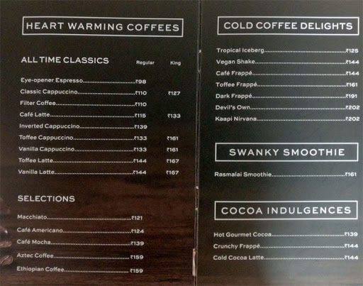 Cafe Coffee Day menu 7
