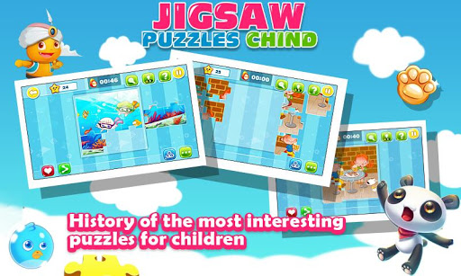 Jigsaw puzzle baby